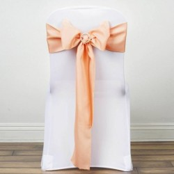 Noeud de chaise polyester orange