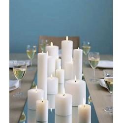 Centre de table mariage miroir carré : 30 cm