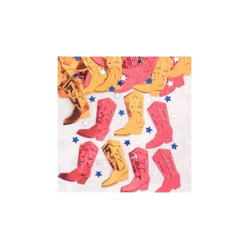 Confettis de table western
