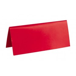 Marque place rectangulaire rouge