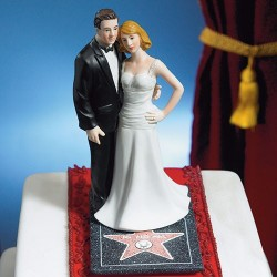 Figurine de mariage Hollywood