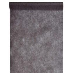Chemin de table intissé gris