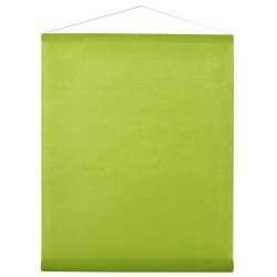 Tenture intissée vert anis