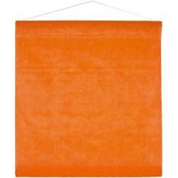 Tenture intissée orange