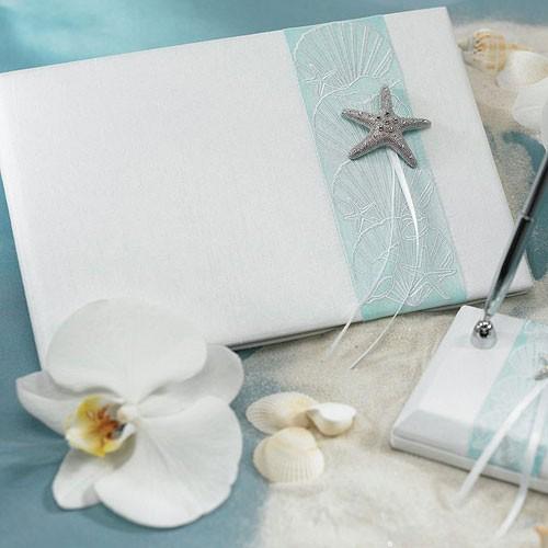 """Livre d""""or étoile de mer"""