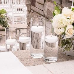 Vase cylindrique 25 cm