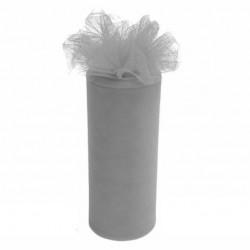 Rouleau de tulle gris 15 cm