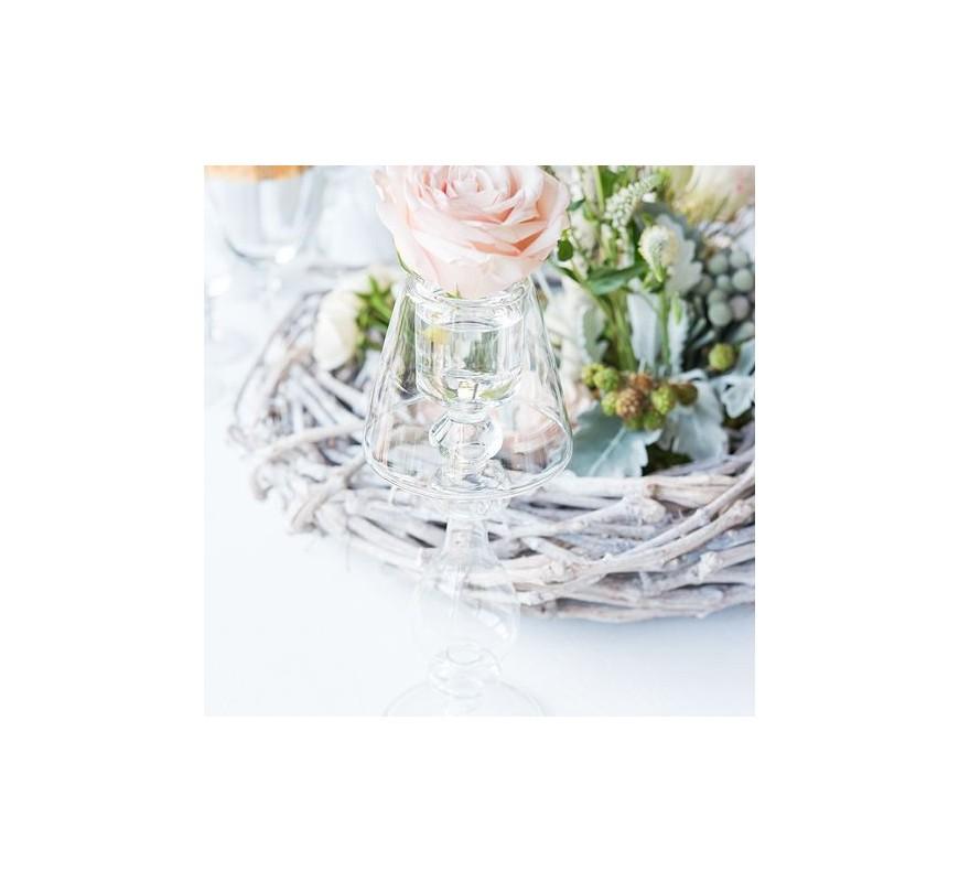 Bougeoir lampe contemporaine les couleurs du mariage for Lampe exterieure contemporaine