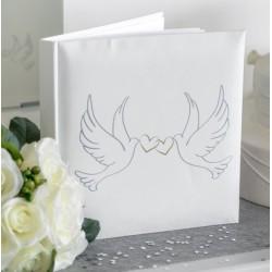Livre d'or de mariage colombe