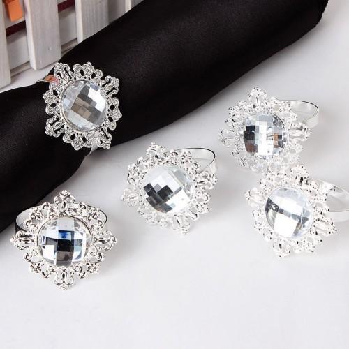 Rond de serviette diamant - Les Couleurs du Mariage : Mariage et ...