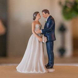 Figurine de mariage contemporaine