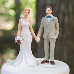 Figurine de mariage rétro