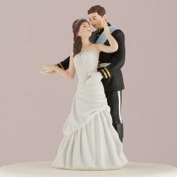 Figurine de mariage princesse et prince