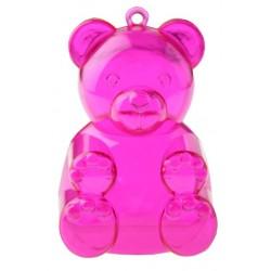 Boite à dragées ourson rose