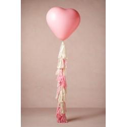 Ballon géant coeur rose