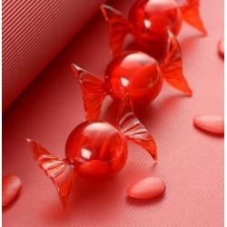 Boite à dragées bonbon rouge