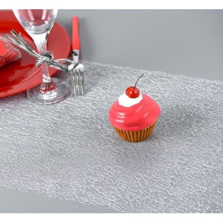 chemin de table r sille argent les couleurs du mariage mariage et r ception. Black Bedroom Furniture Sets. Home Design Ideas