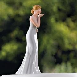 Figurine mariée baiser