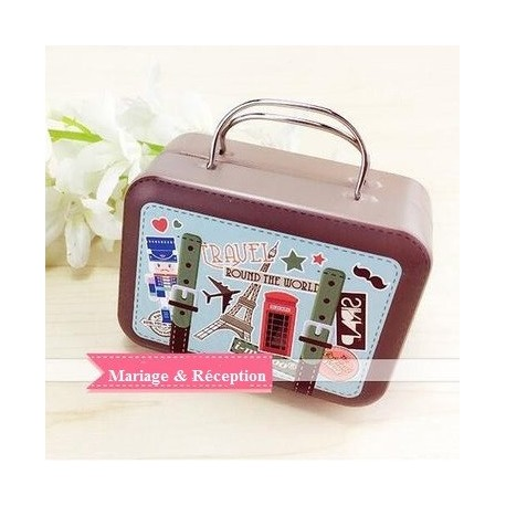boite drages valise travel - Valise Dragees Mariage