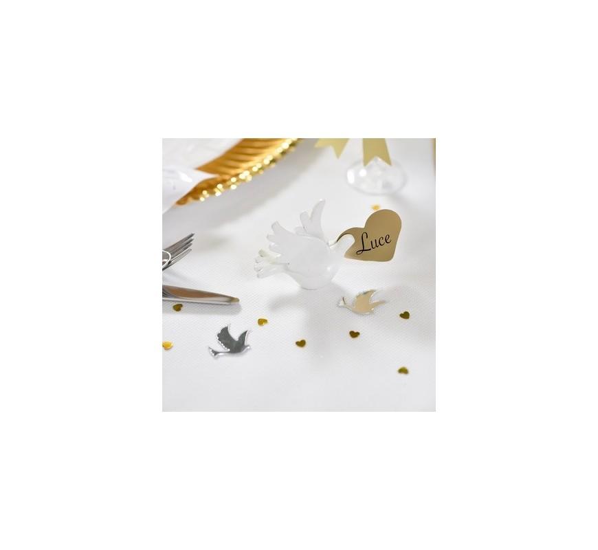 etiquette marque place coeur les couleurs du mariage mariage et r ception. Black Bedroom Furniture Sets. Home Design Ideas