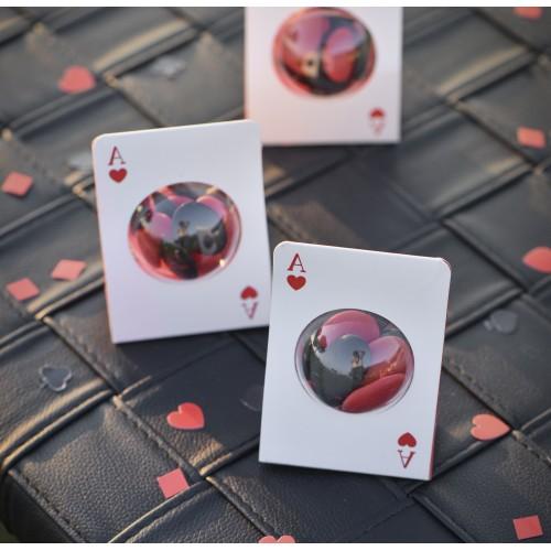 Carte à jouer porte dragées