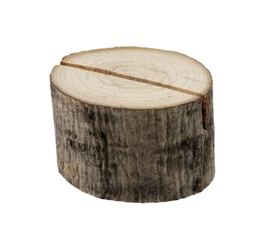 Marque place rondin de bois les couleurs du mariage mariage et r ception - Rondin de bois deco table ...