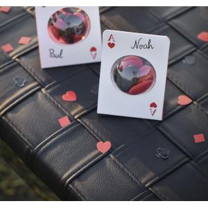 Confettis de table poker