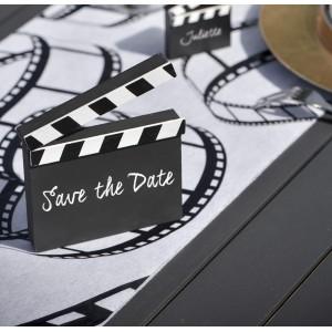 Marque table clap de cinéma