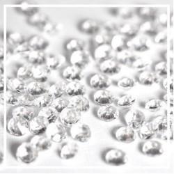 Diamants transparents x 100