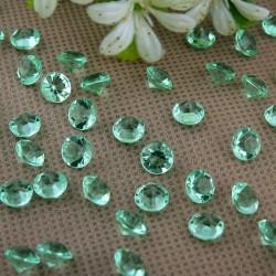 Diamants vert pale x 100
