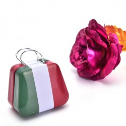 Boite à dragées valise Italie
