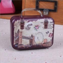 Boite à dragées valise Londres