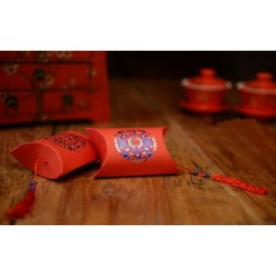 Boite à dragées décor asie
