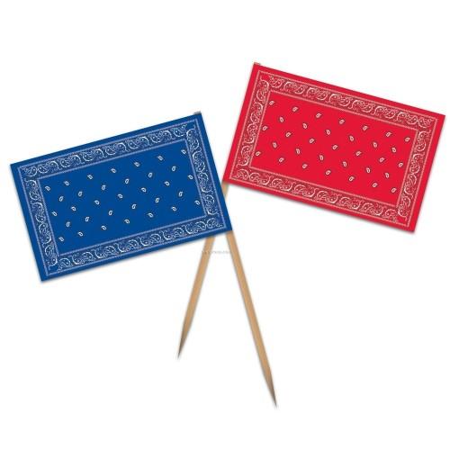 Pis décoratifs bandanas ( par 50 )