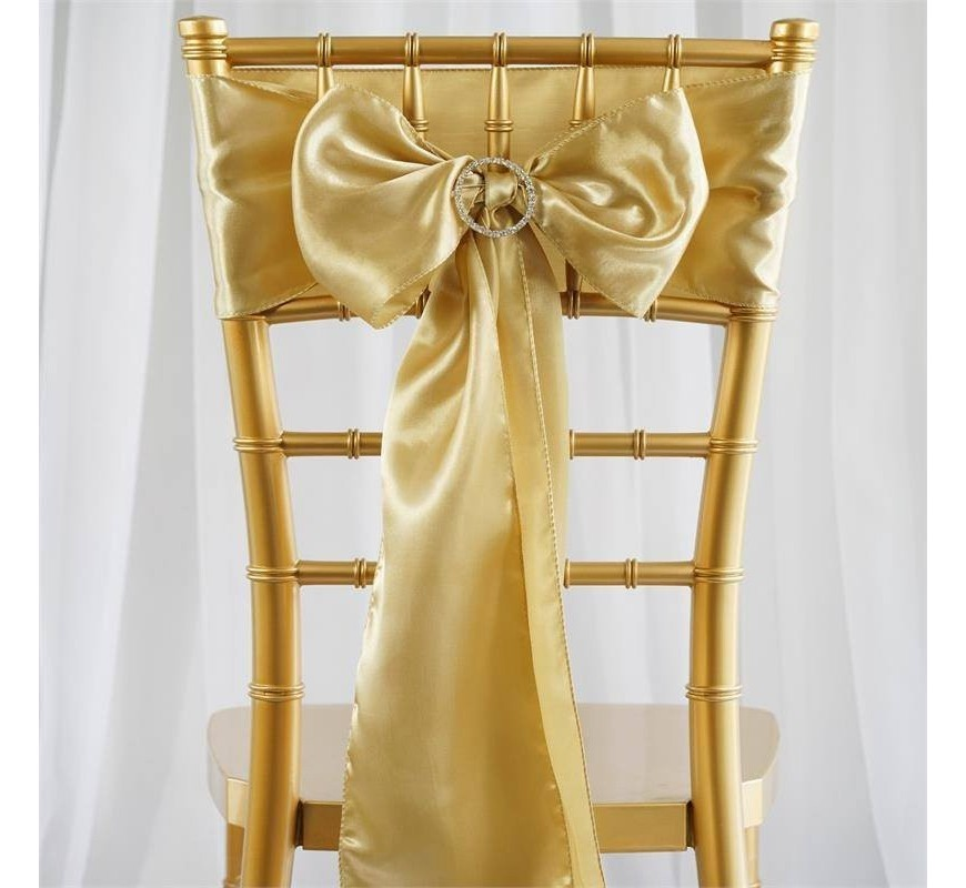 noeud de chaise mariage satin champagne les couleurs du mariage mariage et r ception. Black Bedroom Furniture Sets. Home Design Ideas