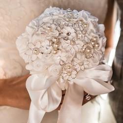 Bouquet de mariée broche