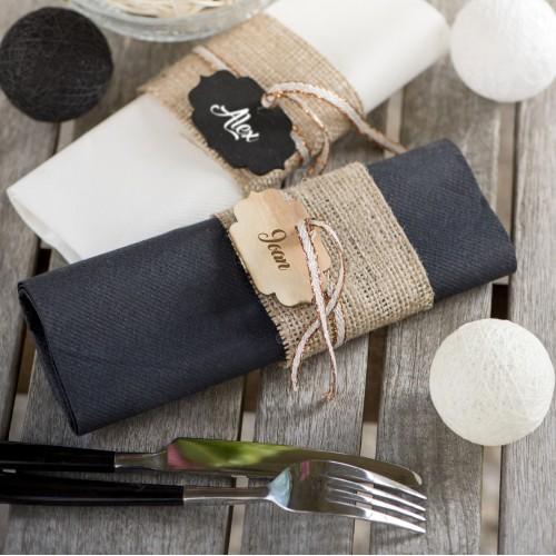 marque place vintage en bois par 6 les couleurs du mariage mariage et r ception. Black Bedroom Furniture Sets. Home Design Ideas