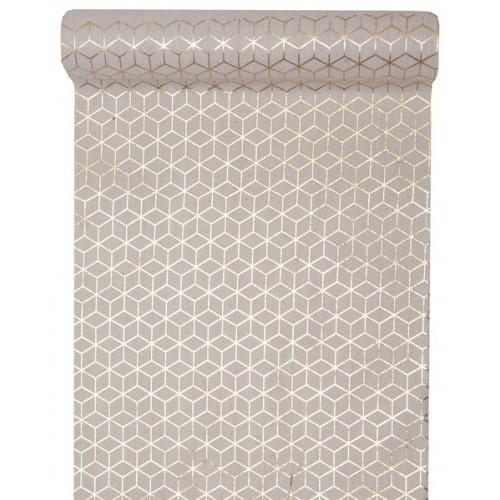chemin de table carreau de ciment or les couleurs du mariage mariage et r ception. Black Bedroom Furniture Sets. Home Design Ideas