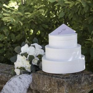 Urne de mariage Gateau