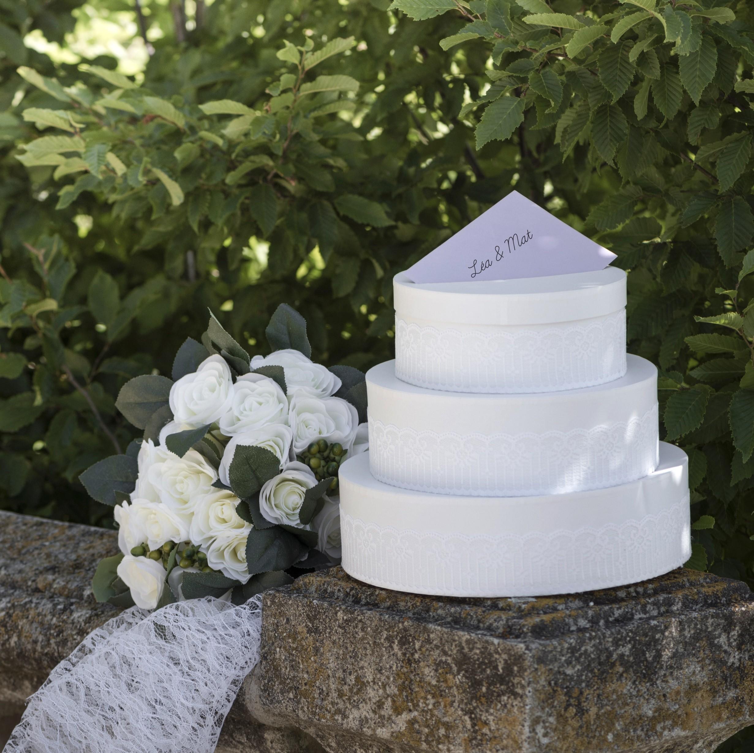 Urne De Mariage Gateau Les Couleurs Du Mariage Mariage