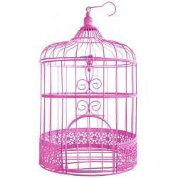 Tirelire cage à oiseaux