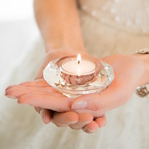 Bougeoir mariage Diamant