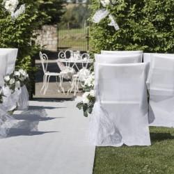 Tapis de cérémonie blanc