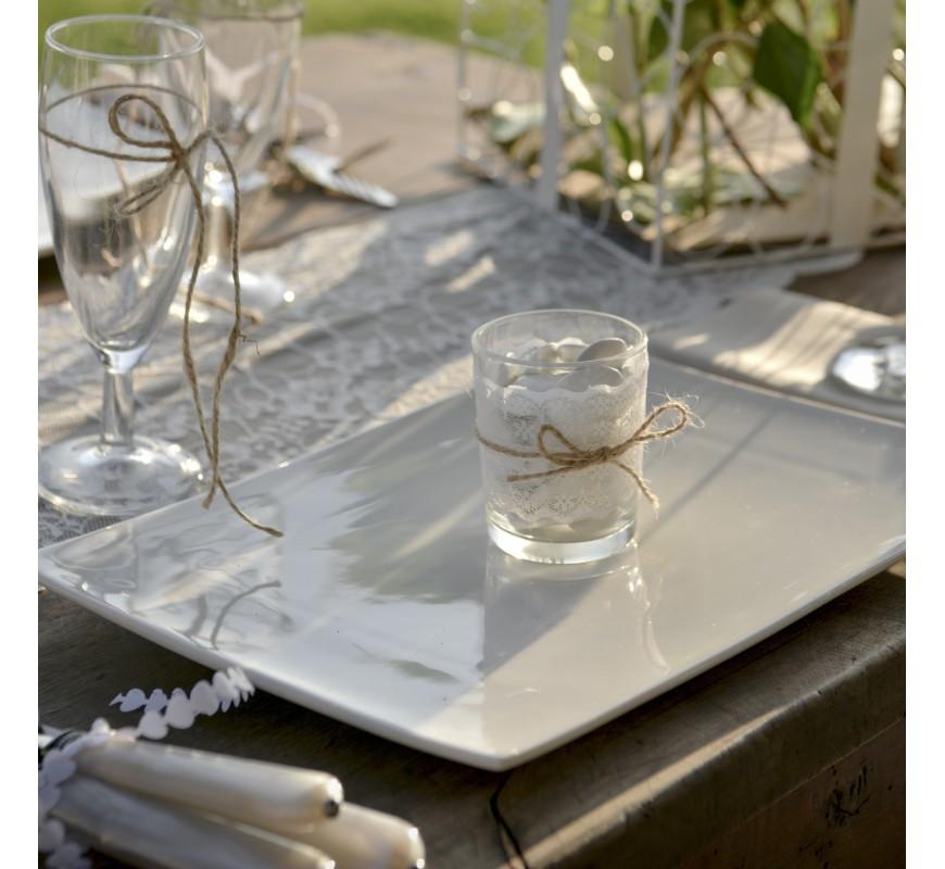 photophore verre dentelle les couleurs du mariage mariage et r ception. Black Bedroom Furniture Sets. Home Design Ideas