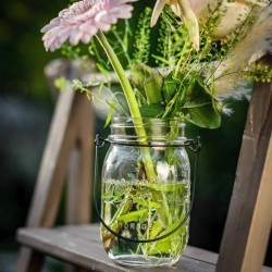 Photophore Mason jar