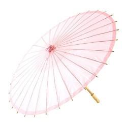 Ombrelle rose poudré