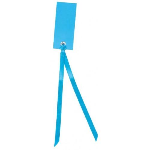Marque place rectangulaire bleu