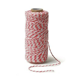 Ficelle baker twine rouge