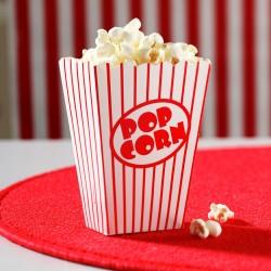 Contenant à bonbons pop corn par 8
