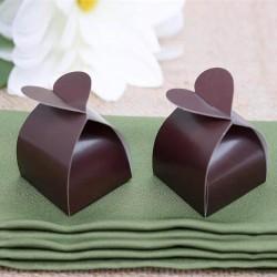 Boite à dragées amor chocolat